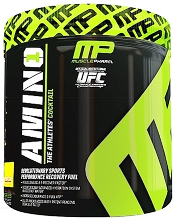 DROPPED: Muscle Pharm - Amino1 Hybrid Series Revolutionary Sports Performance Recovery Fuel Lemon Lime - 15 Serving(s) CLEARANCE PRICED