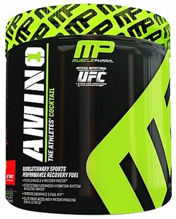 DROPPED: Muscle Pharm - Amino1 Hybrid Series Revolutionary Sports Performance Recovery Fuel Fruit Punch - 15 Serving(s) CLEARANCE PRICED