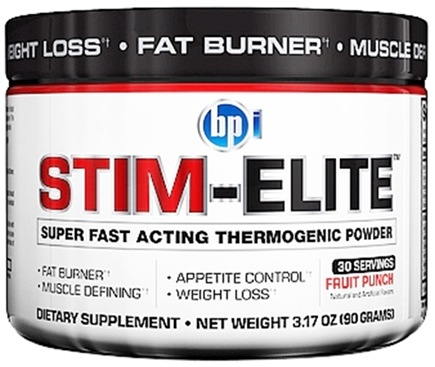 Zoom View - Stim-Elite Super Fast Acting Thermogenic Powder