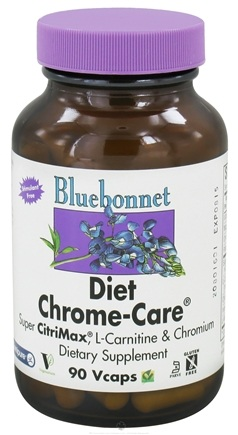 DROPPED: Bluebonnet Nutrition - Diet Chrome-Care - 90 Vegetarian Capsules CLEARANCE PRICED