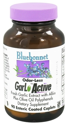 DROPPED: Bluebonnet Nutrition - Odorless GarLo Active - 90 Caplets CLEARANCE PRICED