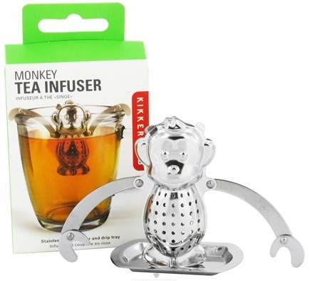 DROPPED: Kikkerland - Tea Infuser Monkey