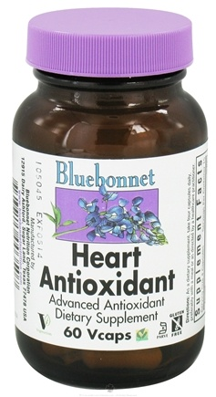 DROPPED: Bluebonnet Nutrition - Heart Antioxidant - 60 Vegetarian Capsules CLEARANCE PRICED