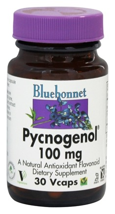 DROPPED: Bluebonnet Nutrition - Pycnogenol 100 mg. - 30 Vegetarian Capsules