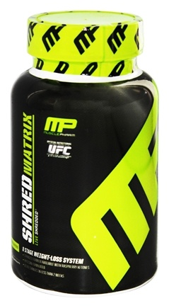 DROPPED: Muscle Pharm - Shred Matrix 8-Stage Weight-Loss System - 60 Capsules