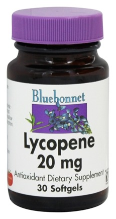 DROPPED: Bluebonnet Nutrition - Lycopene 20 mg. - 30 Softgels