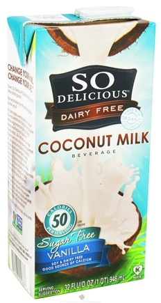 Zoom View - Dairy Free Coconut Milk Sugar Free Beverage