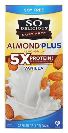Zoom View - Dairy Free Almond Milk Plus
