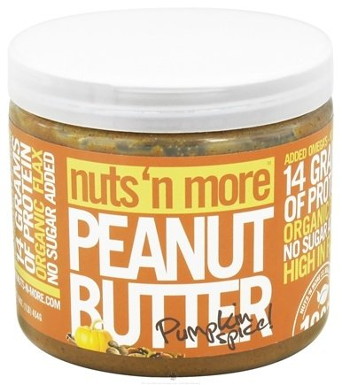 DROPPED: Nuts N More - Pumpkin Spice Peanut Butter - 16 oz.