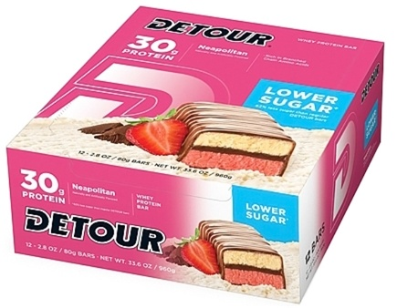 Zoom View - Detour Bar Low Sugar