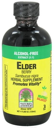 Zoom View - Elderberry Alcohol Free Extract (1:1)