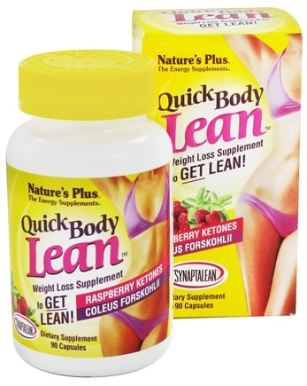 DROPPED: Nature's Plus - Quick Body Lean - 90 Capsules CLEARANCE PRICED