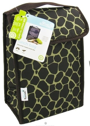 DROPPED: Blue Avocado - Lunch Bag Plus Green Giraffe - CLEARANCE PRICED
