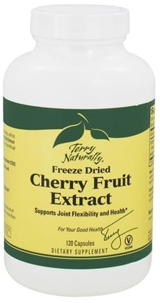 DROPPED: EuroPharma - Terry Naturally Freeze Dried Cherry Fruit Extract - 120 Capsules