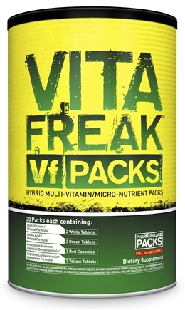 DROPPED: PharmaFreak Technologies - Vita Freak Vf Packs Hybrid Multi-Vitamin/Micro-Nutrient Supplement - 30 Pack(s)