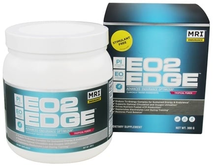 DROPPED: MRI: Medical Research Institute - EO2 Edge Advanced Endurance Optimizer Tropical Punch Flavor - 300 Grams CLEARANCE PRICED
