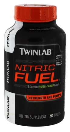 DROPPED: Twinlab - Nitric Fuel Extended Muscle Pump Formula - 90 Tablets