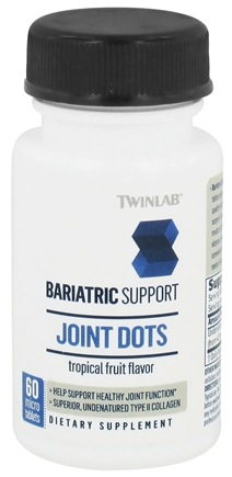 Zoom View - Bariatric Support Joint Dots Tropical Fruit Flavor - 60 Micro Tablets
