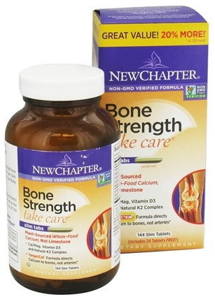 DROPPED: New Chapter - Bone Strength Take Care Bonus Size - 144 Tablets