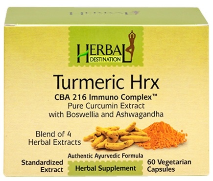 DROPPED: Herbal Destination - Turmeric HRX - 60 Softgels