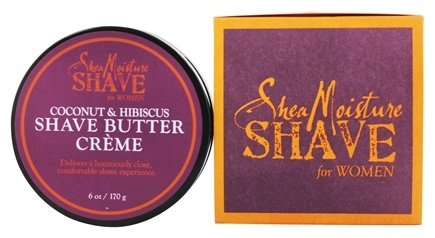 DROPPED: Shea Moisture - Coconut & Hibiscus Shave Butter Creme for Women - 6 oz.