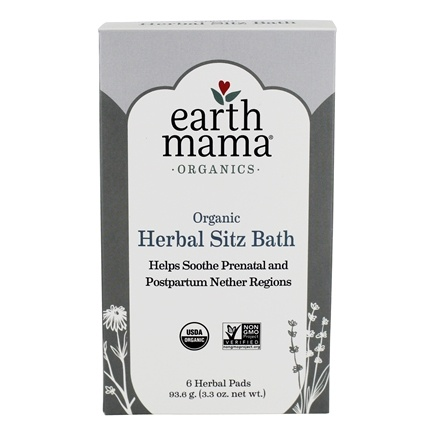 Earth Mama Angel Baby - Post-Partum Bath Herbs - 6 Pad(s)