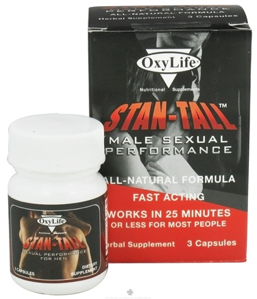 DROPPED: OxyLife Products - Stan-Tall Male Sexual Performance - 3 Capsules