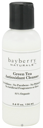 DROPPED: Bayberry Naturals - Antioxidant Cleanser Green Tea - 4.6 oz. CLEARANCED PRICED
