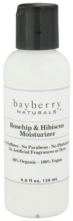 DROPPED: Bayberry Naturals - Facial Moisturizer Rosehip & Hibiscus - 4.6 oz. CLEARANCED PRICED