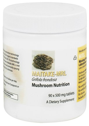 DROPPED: Prince of Peace - Maitake-MRL Mushroom Nutrition 500 mg. - 90 Tablets CLEARANCE PRICED