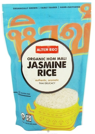 DROPPED: Alter Eco - Organic Hom Mali Jasmine Rice - 1 lb. CLEARANCE PRICED