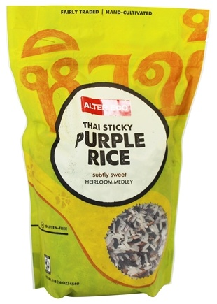 DROPPED: Alter Eco - Organic Purple Jasmine Rice - 1 lb.