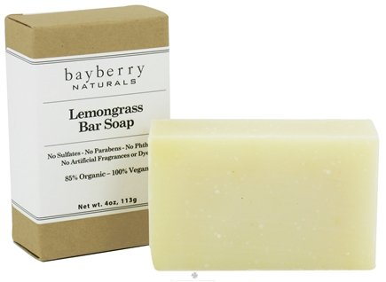 DROPPED: Bayberry Naturals - Bar Soap Lemongrass - 4 oz.