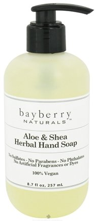 DROPPED: Bayberry Naturals - Hand Soap Aloe & Shea Herbal - 8.7 oz. CLEARANCED PRICED