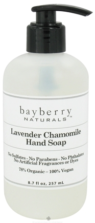 DROPPED: Bayberry Naturals - Hand Soap Lavender Chamomile - 8.7 oz. CLEARANCED PRICED