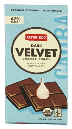 Zoom View - Organic Chocolate Dark Velvet 47% Cocoa