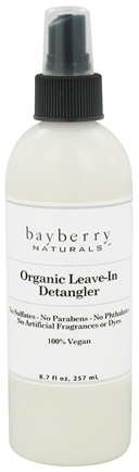 DROPPED: Bayberry Naturals - Organic Leave-In Detangler - 8.7 oz. CLEARANCED PRICED