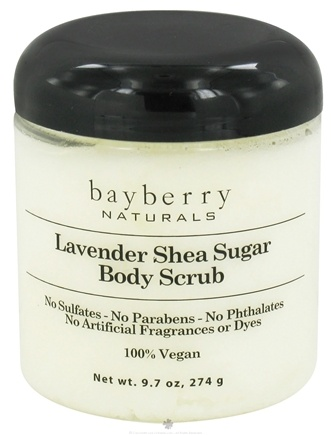 DROPPED: Bayberry Naturals - Body Scrub Lavender Shea Sugar - 9.7 oz. CLEARANCED PRICED