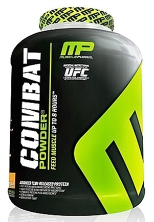 DROPPED: Muscle Pharm - Combat Advanced Time Release Protein Powder Orange Creamsicle - 4 lbs.