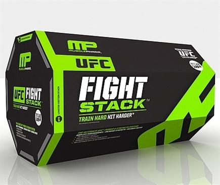 DROPPED: Muscle Pharm - UFC Fight Stack Exclusive Limited Edition with Fruit Punch Assault, Lemon Lime Amino One
