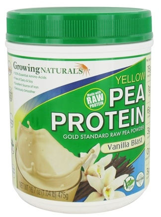 Zoom View - 100% Yellow Pea Protein