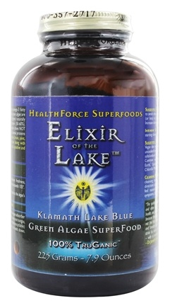 DROPPED: HealthForce Nutritionals - Elixir of the Lake Powder - 225 Grams