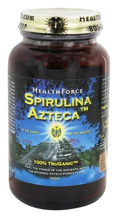 DROPPED: HealthForce Nutritionals - Spirulina Azteca Powder - 150 Grams CLEARANCE PRICED
