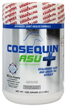 DROPPED: Cosequin - ASU+ Equine Powder Joint Supplement for Horses - 1050 Grams