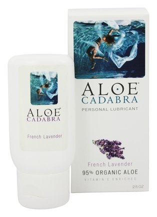 DROPPED: Aloe Cadabra - Natural Aloe Personal Lubricant French Lavender - 2.5 oz. CLEARANCE PRICED