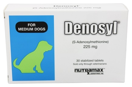 DROPPED: Nutramax Labs - Denosyl For Medium Dogs 225 mg. - 30 Tablets