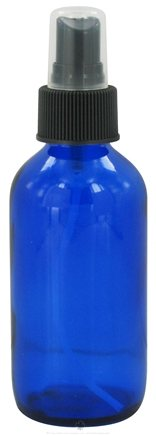 DROPPED: Wyndmere Naturals - Cobalt Blue Glass Bottle with Mist Sprayer - 4 oz.
