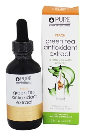 Pure Inventions - Green Tea Antioxidant Extract Peach - 2 oz.