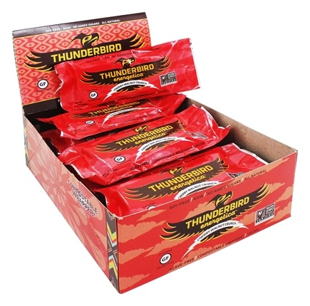 DROPPED: Thunderbird Energetica - Gluten Free Raw Energy Bar Cherry Walnut Crunch - 1.7 oz.
