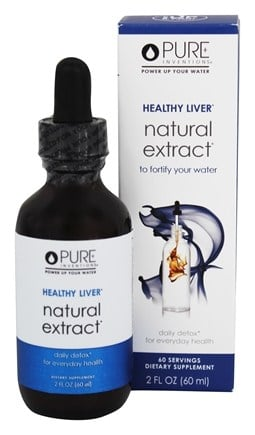 Pure Inventions - Healthy Liver Natural Extract - 2 oz.